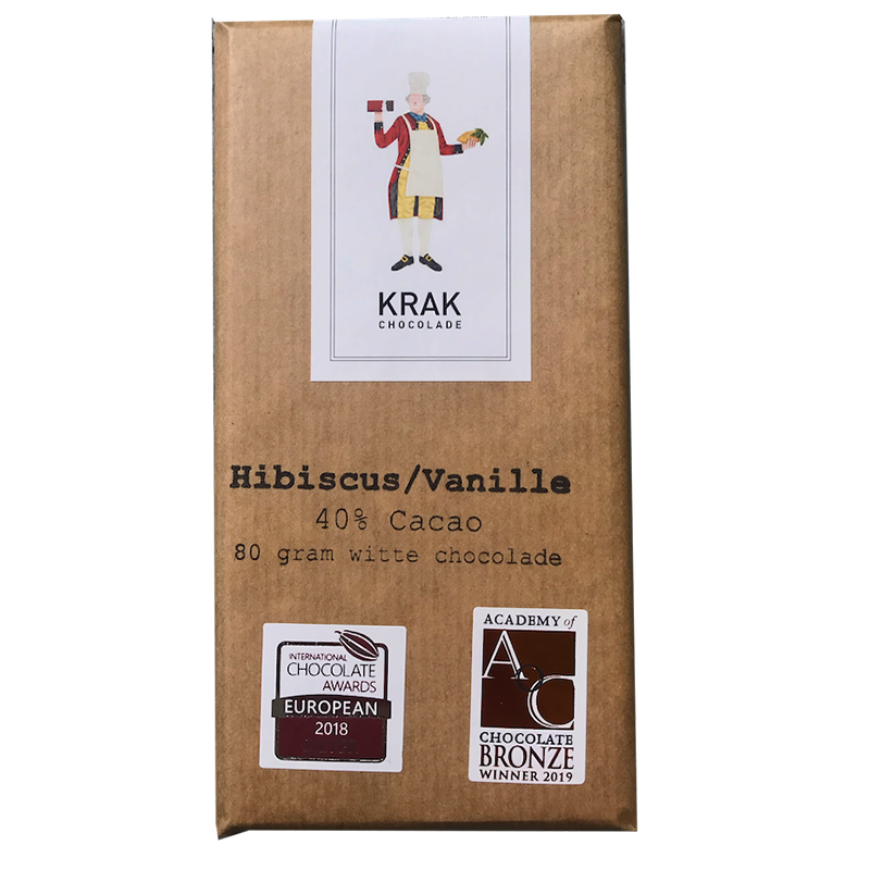 Krak Chocolate Hibiscus Vanille